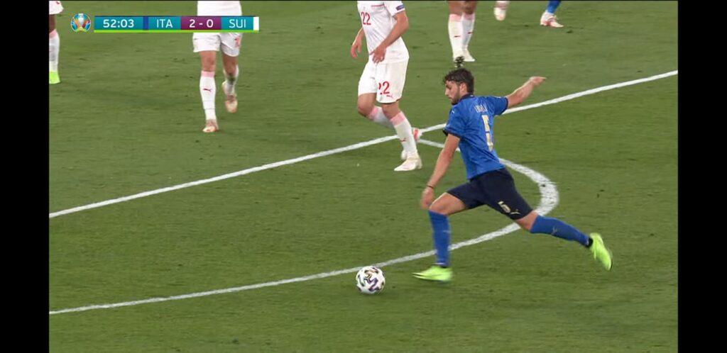 Manuel Locatelli migliore in campo